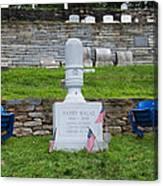 Phillies Harry Kalas' Grave Canvas Print