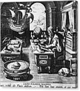 Philosopher, C1580 Canvas Print