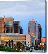 Phoenix Skyline At Dusk Canvas Print