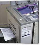 Photocopier Canvas Print