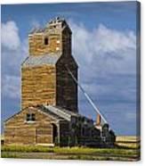 Photograph Of A  Prairie Barn Canvas Print