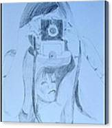 Photographer Shoots Canvas Print
