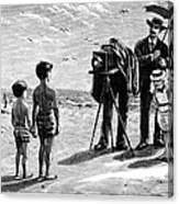Photography, 1877 Canvas Print
