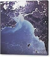 Phytoplankton Or Algal Bloom Canvas Print