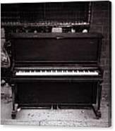 Piano Bar- Tallulah Louisiana Canvas Print
