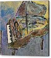 Piano Study 3 Canvas Print