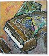 Piano Study 4 Canvas Print