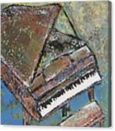 Piano Study 5 Canvas Print
