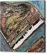 Piano Study 7 Canvas Print