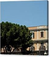 Piazza Cavour Canvas Print