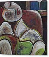Picasso Dream For Luna Canvas Print