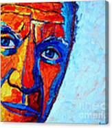 Picasso's Look Canvas Print