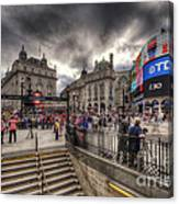 Piccadilly Circus - London Canvas Print