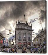 Piccadilly Panorama Canvas Print