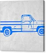 Pick Up Truck Canvas Print