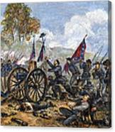 Picketts Charge, 1863 Canvas Print