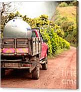 Pickup Truck Canvas Print