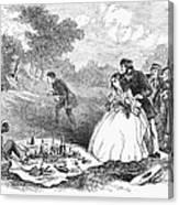 Picnic, 1859 Canvas Print