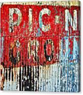 Picnic Ground Canvas Print