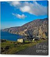 Picnic Time At Slieve League Ireland Canvas Print