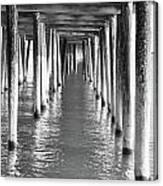 Pier In Canvas Print
