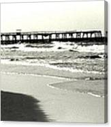 Jacksonville Beach Florida Pier 1997 Canvas Print