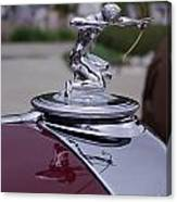 Pierce Arrow Hood Ornament Canvas Print