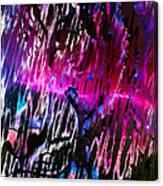 Piercing Aurora Canvas Print