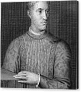 Piero De Medici (1414-1469) Canvas Print
