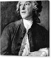 Pierre-augustin Caron De Beaumarchais Canvas Print