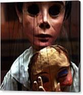 Pierrot Puppet Canvas Print