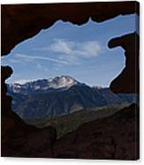 Pikes Peak 2012 Canvas Print