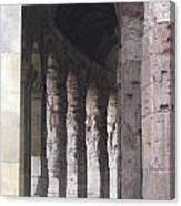 Pilars In Rome Canvas Print