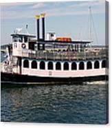 Pilgrim Belle Harbor Cruise Canvas Print