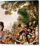 Pilgrimage To The Isle Of Dangerous Women Canvas Print