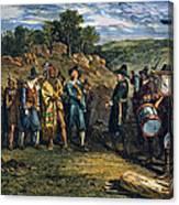 Pilgrims: Massasoit Canvas Print