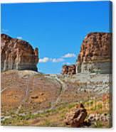 Pilot Butte Rock Formation Iv Canvas Print