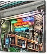 Pina Coladas Canvas Print