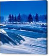 Pinawa Channel, Manitoba Canvas Print