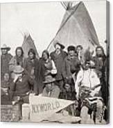 Pine Ridge Reservation Canvas Print