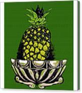 Pineapple Study  Canvas Print