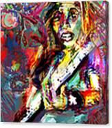 Ping Canvas Print
