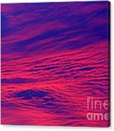 Pink And Purlple Morning Canvas Print