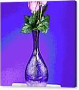 Pink Blues Canvas Print
