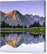 Pioneer Basin Morning Panorama Canvas Print