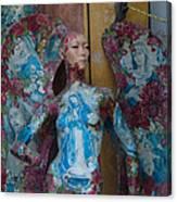 Pious Angel Detail Canvas Print