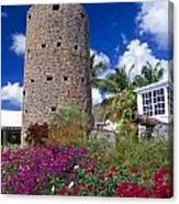 Pirate Castle Tower Canvas Print