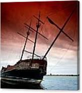 Pirate Ship 2 Canvas Print
