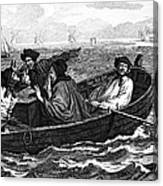 Pirates, 18th Century Canvas Print