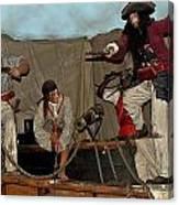 Pirates Of Peril Canvas Print